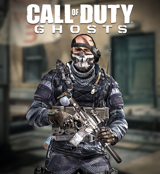 Call of Duty Ghosts micro items - 528.6KB