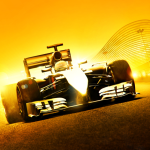 Take in a Hockenheim hot lap with Lewis Hamilton in F1 2014
