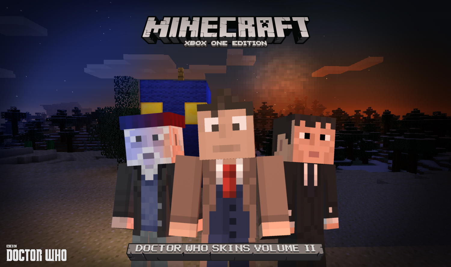 Doctor Who Skin Pack II now available for Minecraft on ...