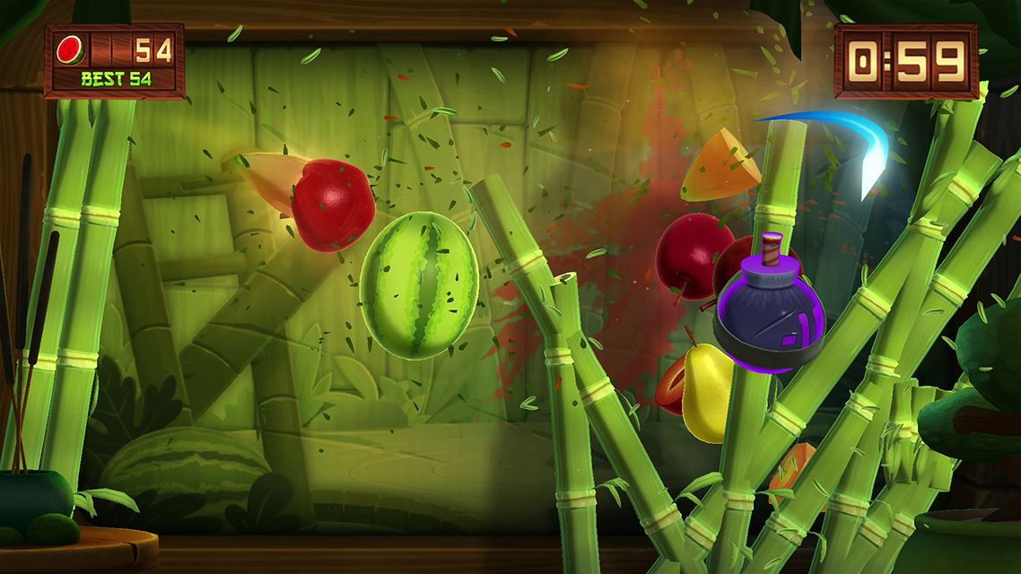 Fruit ninja kinect 2 available to download now on xbox one
