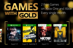 game with gold august 2015