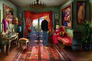 Broken Sword 5 - the Serpent's Curse - Talking to Bijou