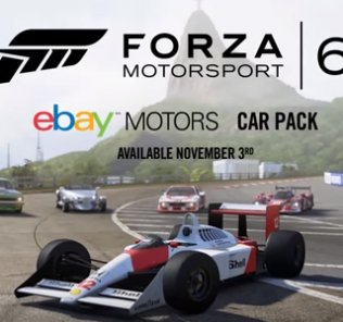 forza 6 ebay car pack