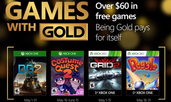 how to download free games on xbox one with gold