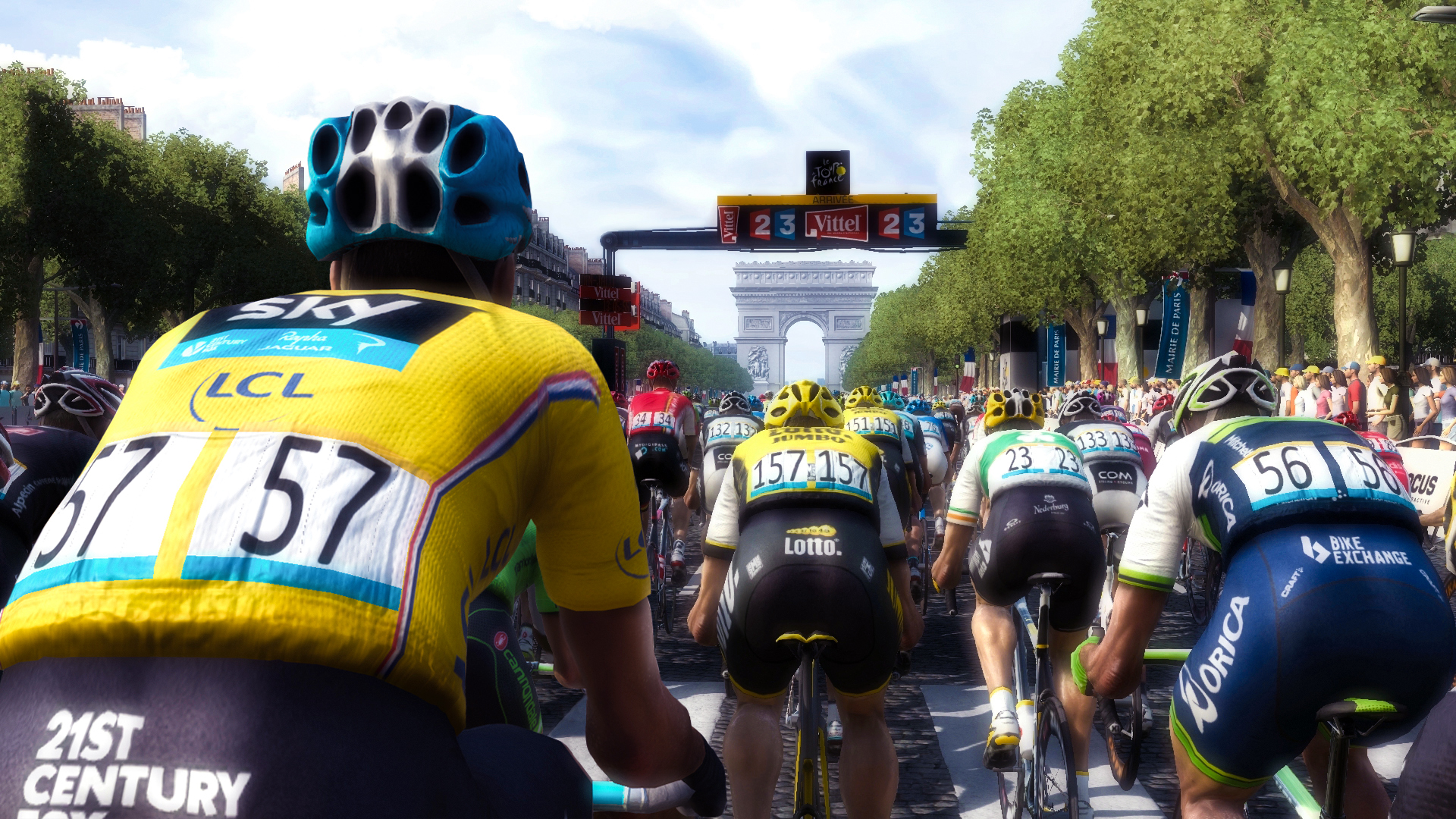 tour de france 2016 available now on xbox one ps4 and pc thexboxhub. Black Bedroom Furniture Sets. Home Design Ideas