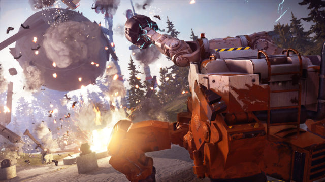 just cause 3 how to start mech land assault