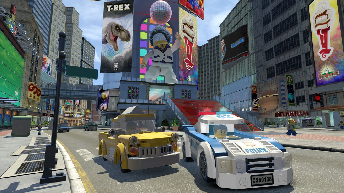 LEGO City Undercover out now