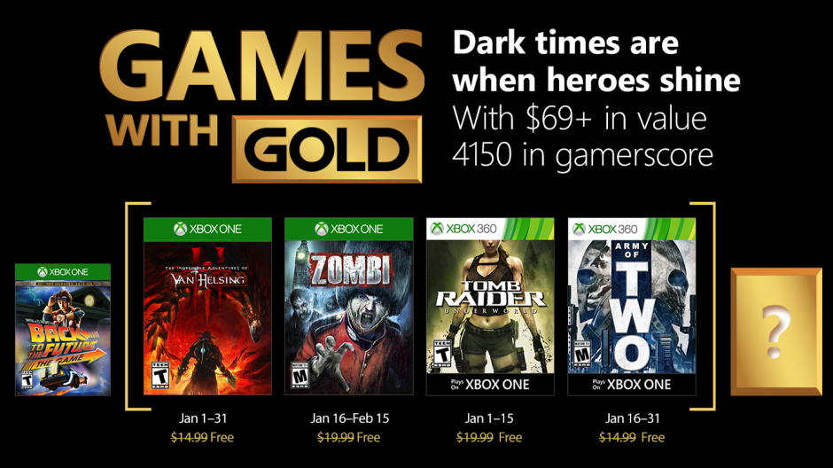 Are the free Xbox Games With Gold titles for January 2018 any good? | TheXboxHub